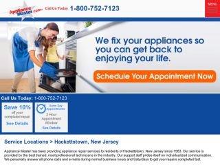 Appliance Master Hackettstown, - , NJ, Hackettstown