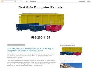 East Side Dumpster Rentals, - , MI, Sterling Heights
