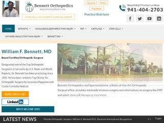 Bennett Orthopedics & Sportsmedicine, 1250 S Tamiami Trail , #303, FL, Sarasota