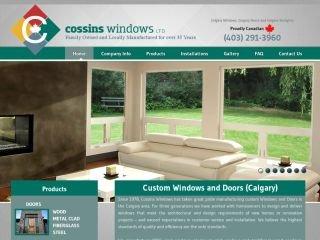 Cossins Windows Canada, 2908 18th Street N. E. , AB, Calgary