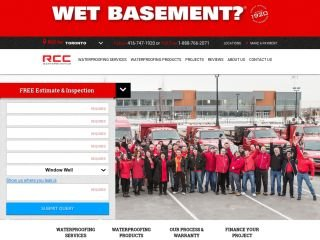RCC Waterproofing WET BASEMENT, 4101 Steeles Avenue West , 201, ON, Toronto