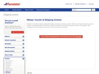 Purolator, 3330 Hawthorne Rd , ON, Ottawa