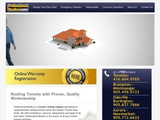 Professional Roofers, 120 Industry St , Unit B, ON, Toronto