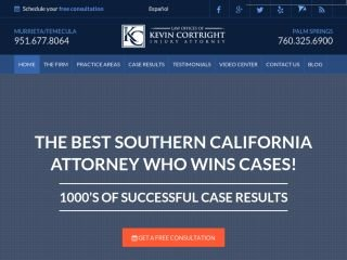 Law Offices of Kevin Cortright, 29970 Technology Drive, Suite 101 , CA, Murrieta