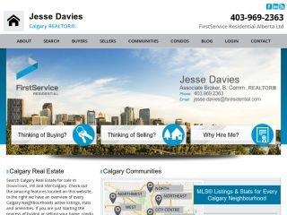 Jesse Davies Calgary Real Estate Agent, 839 5 Ave SW , AB, Calgary