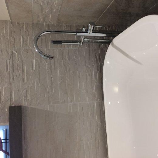LB Quarelo Vessel Sink Above Counter Sink Lavatory Vanity Cabinet, Ceramic  - More Color Options ...