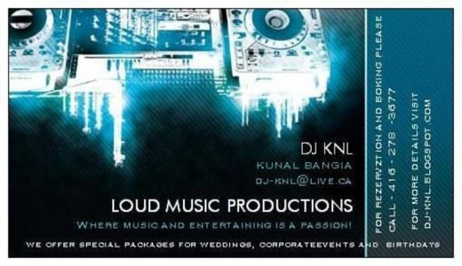 LOUD MUSIC PRODUCTIONS | Mississauga, ON | Photo Gallery